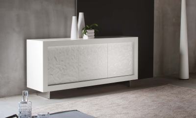 Custom Modern Italian Design sideboard PICASSO by Riflessi - made in Italy-sideboard-picasso-p1-hammered-doors-doors-by-riflessi
