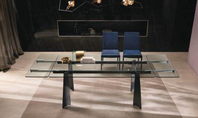Italian Design - Modern dining table TOLEDO By Riflessi