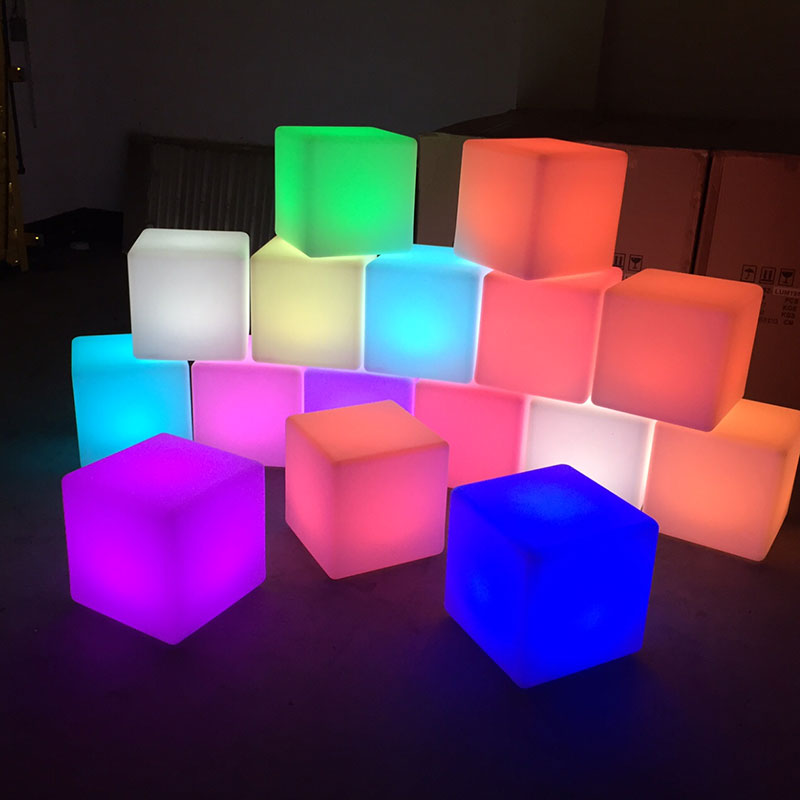LED Cubes  Tredmark Furniture Hire