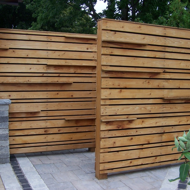 Privacy Screen  Fencing  Main Category  Tree Amigos Landscaping Inc  DesignBuild Property