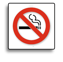 smoking inside all buildings is not permitted