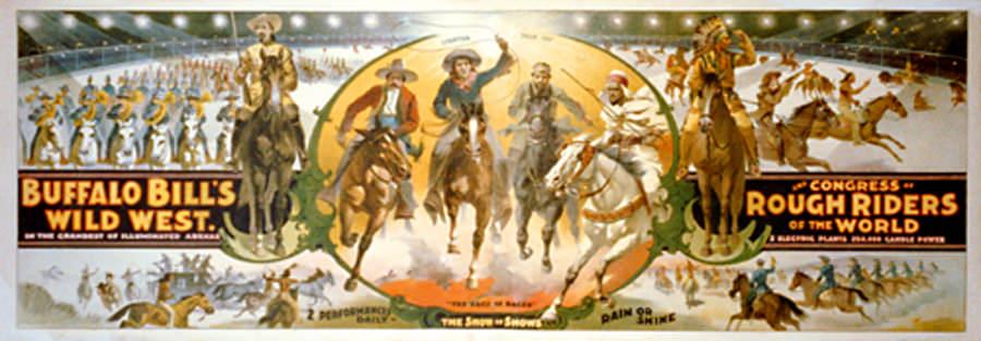TreeFeathers  Buffalo Bills Wild West Show