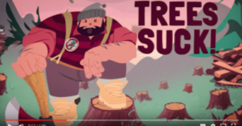 Trees Suck! video