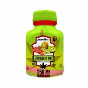 Cannabomb – Strawberrykiwi 250mg Cannabis Infused