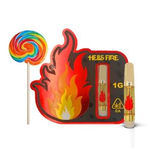 Hells Fire Extracts Candyland Cartridge