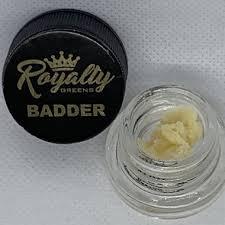 ROYALTY GREENS Gelato Badder (1 gram)