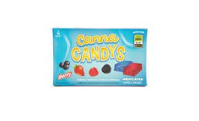 Canna Candys – Berry Hard Candy 4 Pack, 240mg/Box