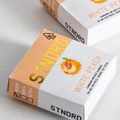 WHITE PEACH 200mg SATIVA Stndrd Gummies
