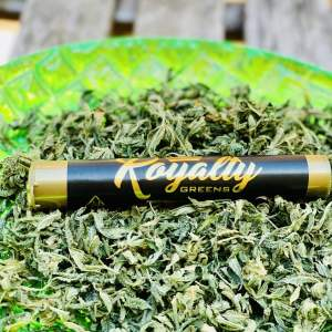 Royalty Greens | Premium Hybrid 1 Gram Pre-Roll Cones In Wax And Wrapped With Golden Kief