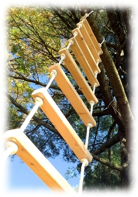 Rope Ladders  12 Foot Rope Ladder from Treehouse Supplies