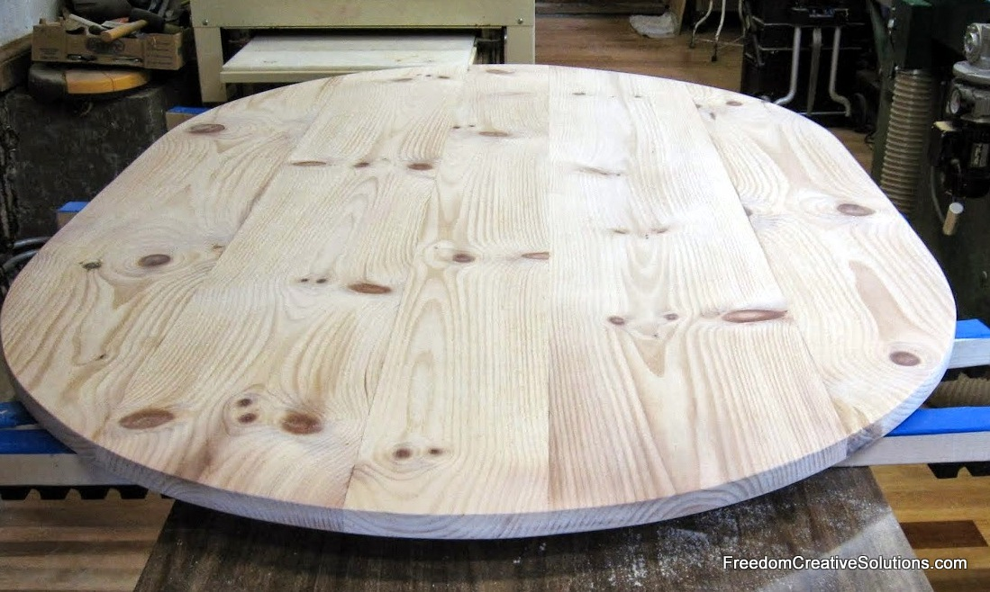 Ecofriendly wood table and countertops in Winston Salem