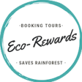 Collect Eco-Reward Points every time you book tours and experiences through Tree Hugger Travel. Eco-Rewards fund the purchase of biologically important threatened areas of rainforest worldwide.