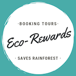Collect Eco-Rewards every time you book tours and experiences through Tree Hugger Travel. Eco-Rewards fund the purchase of biologically important threatened areas of rainforest worldwide.