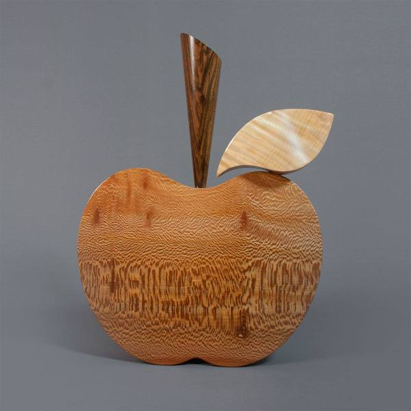 LaceWood Apple sculpture
