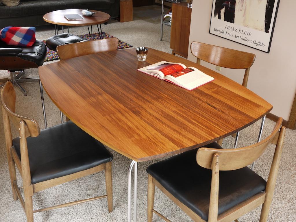 teak ombre table 003