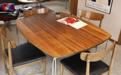 Teak Ombre Dining Table