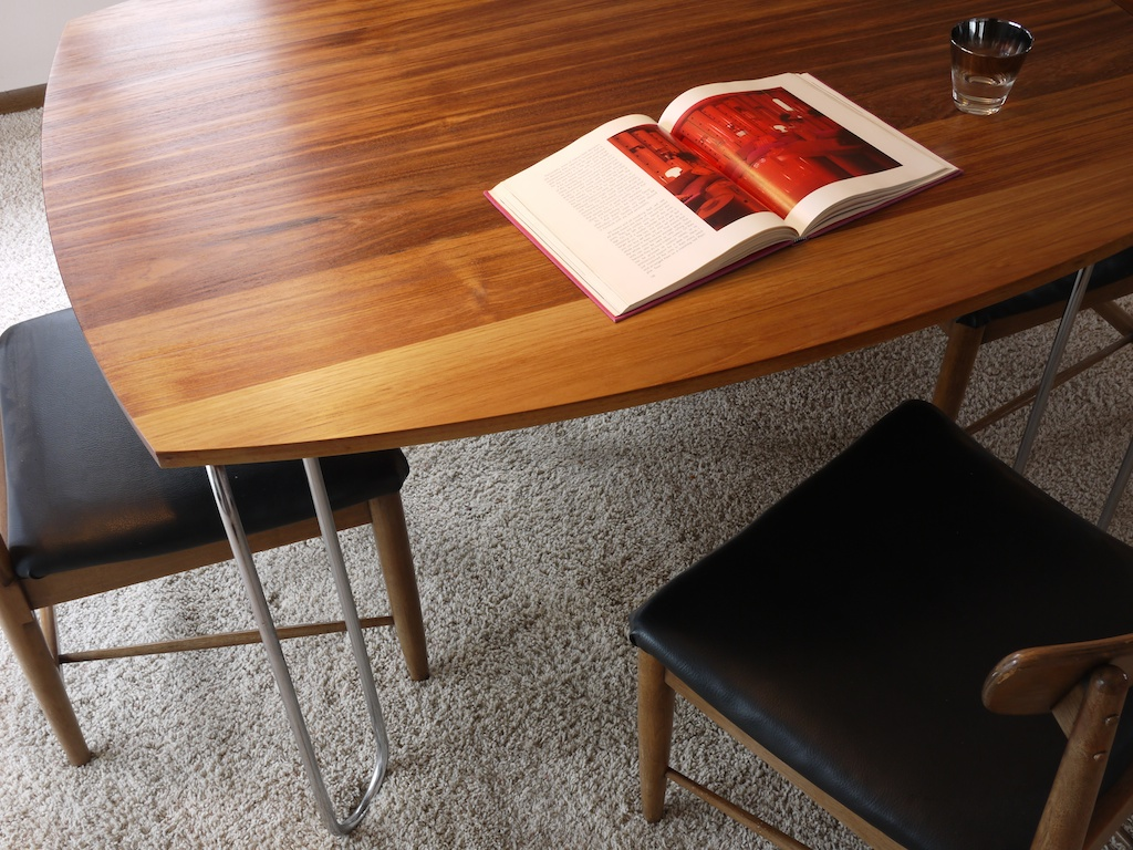 teak ombre table 004