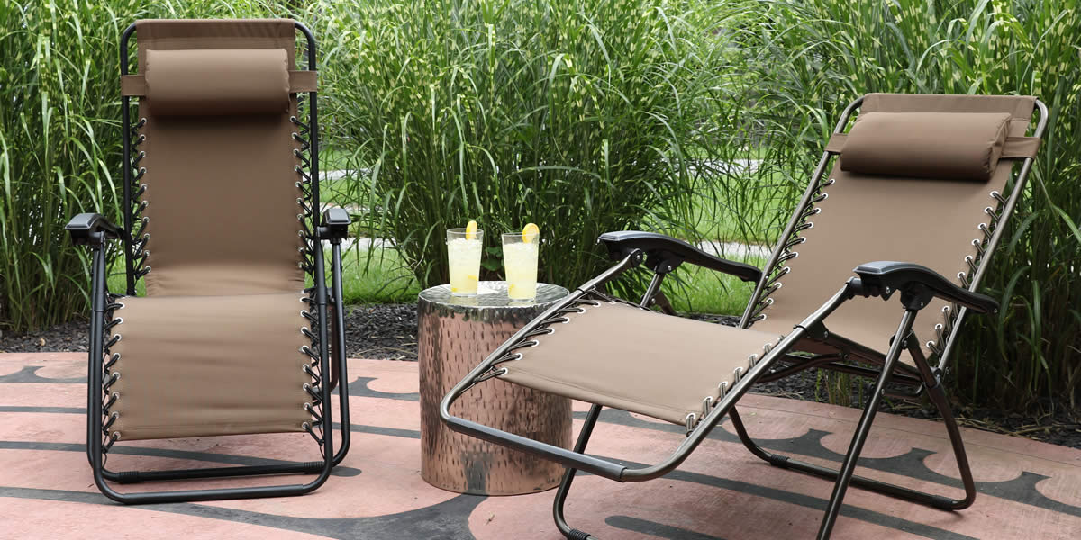 zero gravity pool chairs grey accent chair with arms outdoor furniture - shop by brand dreamcoast trees n trends home ...