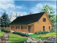 Ranch Style Log Home Floor Plans Ranch Log Cabin Homes ...