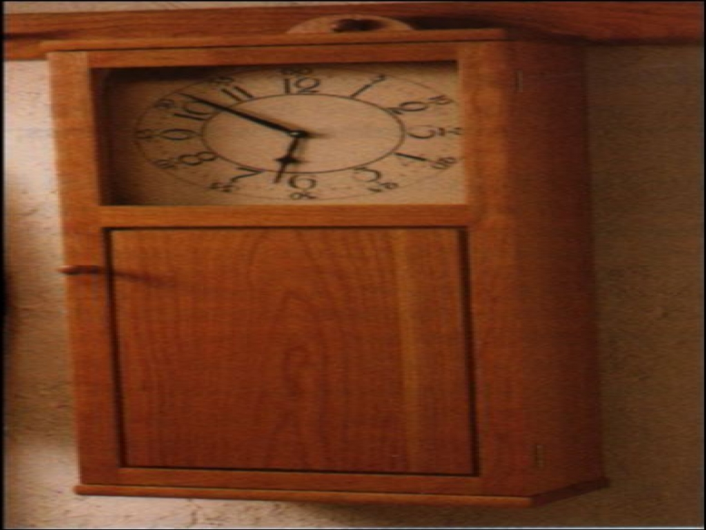 Shaker Wall Clock Plans, shaker style house plans