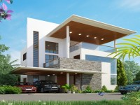 Simple Contemporary House Design Simple Contemporary Wall ...