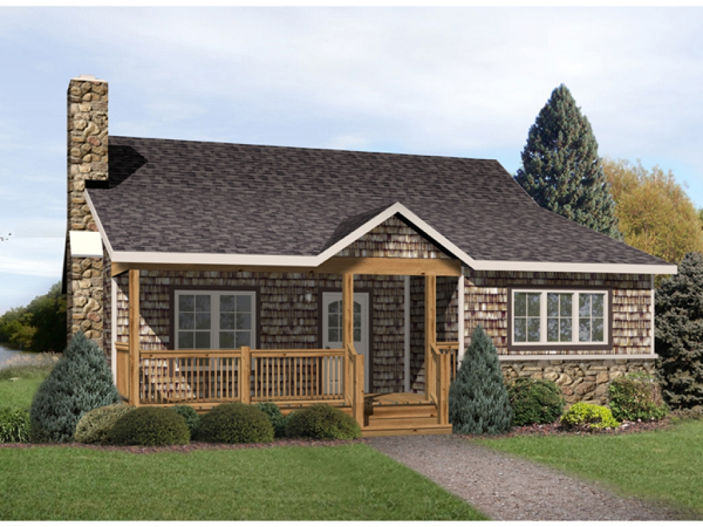 Radford Country Cabin Home Plan 058D 0176 House Plans And More French Country Cottage Homes
