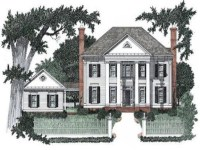 Small House Plans Colonial Style House Plans Colonial ...