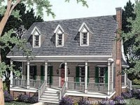Open One Story House Plans One Story House Plans with ...