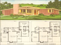 Mid Century Modern Ranch Mid Century Modern Home Plans ...
