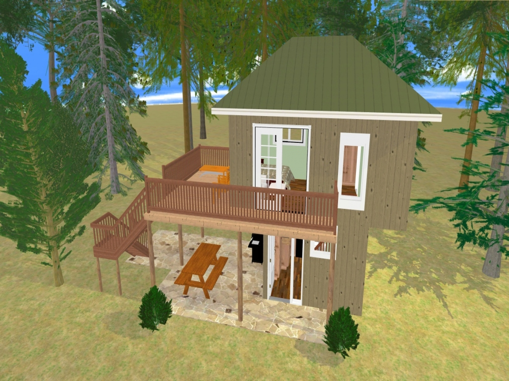 Cool Tree House Plans Tree House Floor Plans 300 Sq FT