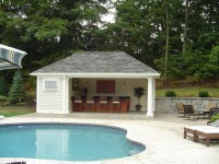 Backyard Pool House Designs Outdoor Pool House Designs