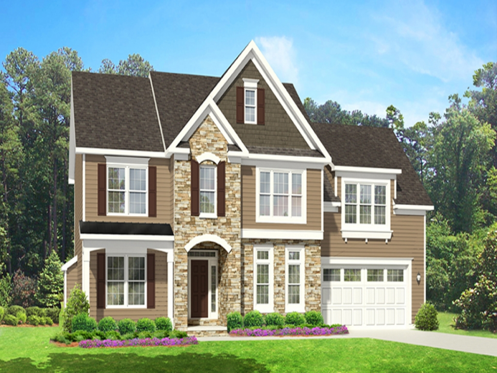 With 2 Story House Plans First Floor Master 2 Story House