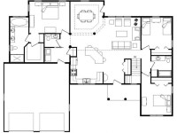 Log Homes with Open Floor Plans Log Home with Loft, floor ...