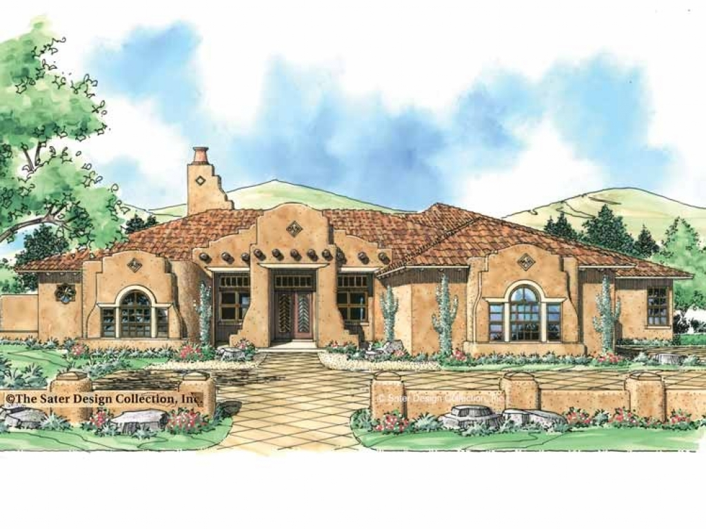 Spanish Mission House Plans Spanish Mission Style House