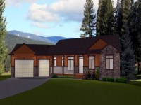 Rectangular House Plans Ranch Style Ranch Style House