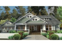 Single Story Craftsman House Plans Craftsman Style House