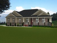 Small House Plans Craftsman Bungalow Ranch Style Bungalow ...
