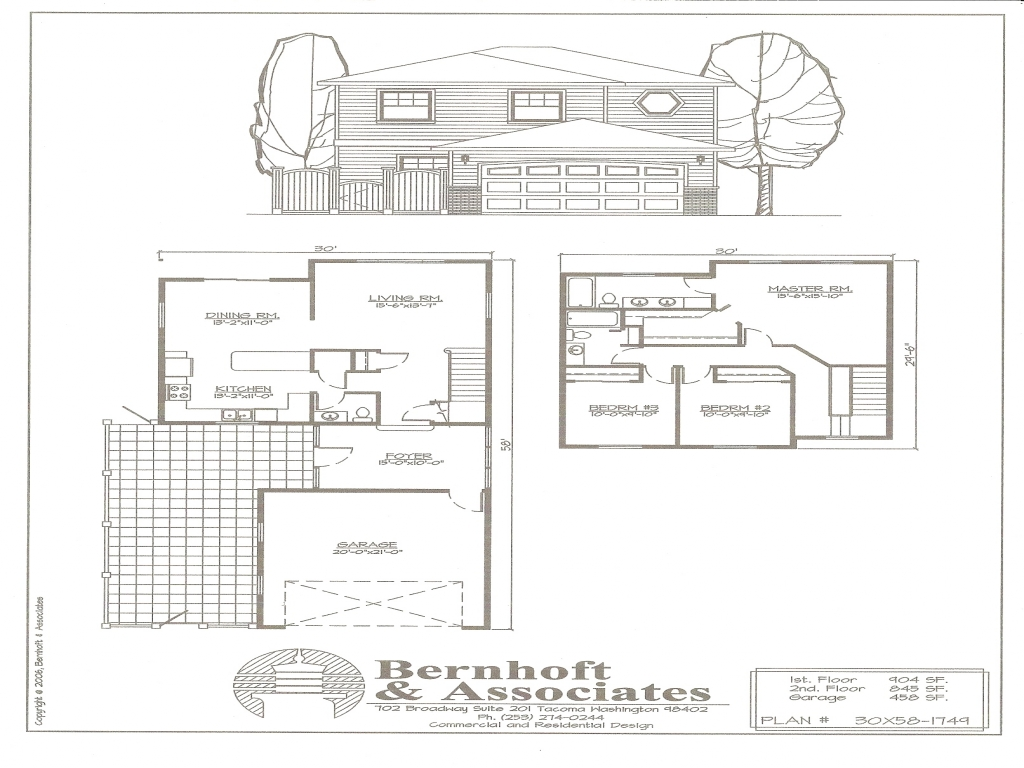 Single Family House Plans Single Pitch Roof House Plans