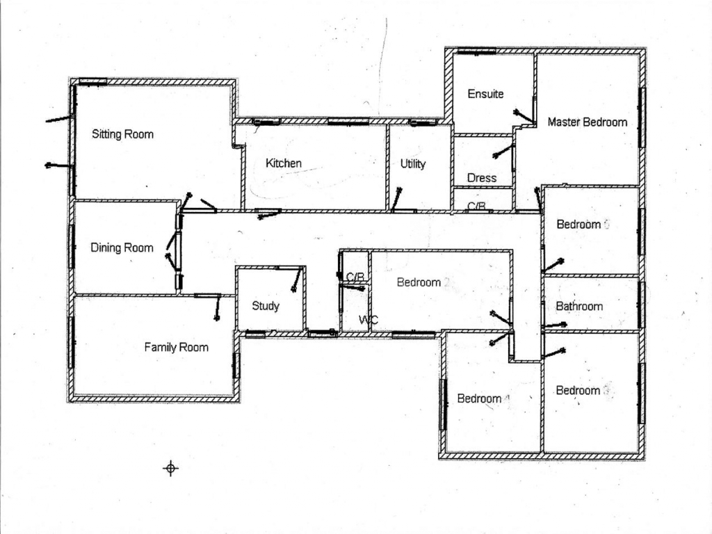 2 Bedroom House Simple Plan House Plans And Design House