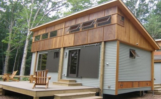 Wooden Small House Plans 2013 Award Winning Small House