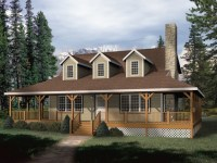 Rustic House Plans with Wrap around Porches Rustic House ...