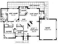 Mediterranean House Plan Carrizo 11 010 Floor Plan Open
