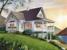 Small Lake House Decorating Cottage Plans