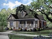 Southern Living Cottage House Plans Narrow