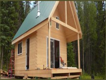 Timber Frame Cabin Kit Small