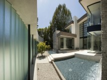 Modern House Design With Water Feature Japanese