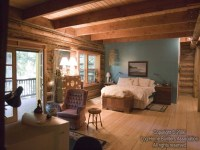 Log Home Bathrooms Master Log Home Master Bedroom, log ...
