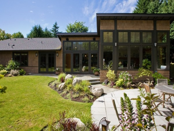 Northwest Contemporary House Exterior