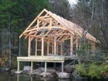 Small Timber Frame Cabin Kits Post And Beam Cabins