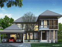 Two-Story Contemporary House Plans